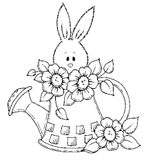 easter bunnies coloring pages easter wallpapers
