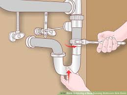Best Way To Unclog Bathtub Drain 4 Ways To Unclog A Slow Running Bathroom Sink Drain Wikihow
