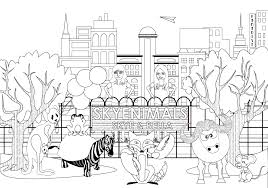 animal coloring pages kids