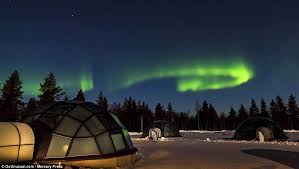 best place to watch the northern lights in canada kakslauttanen hotel igloo village in saariselkä offers the best