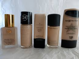full coverage foundations for pale and oily skin my favourite