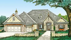 plan 48540fm french country home plan with optional bonus room