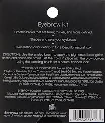 How To Make Wax For Your Eyebrows Amazon Com E L F Eyebrow Kit Medium Packaging May Vary Beauty