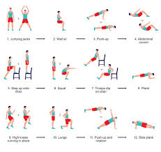 Chair Cardio Exercises The Scientific 7 Minute Workout The New York Times