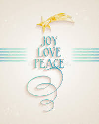 merry christmas joy love and peace text card stock images image