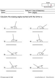angles in a triangle worksheet 4 diff levels triangles