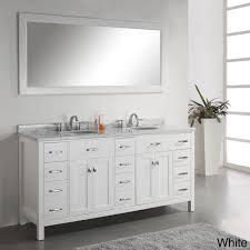 72 Double Sink Bathroom Vanity by Virtu Usa Caroline Parkway 72 Double Bathroom Vanity Set In White