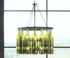 Whiskey Bottle Chandelier Glass Bottle Walls U2022 Nifty Homestead