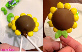 sunflower cake pops pint sized baker