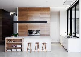 cuisine moderne ilot central cuisine moderne bois chêne