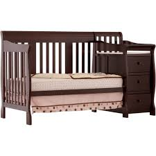 Crib Convertible Toddler Bed by Storkcraft Portofino 4 In 1 Convertible Crib N Changer Combo