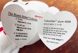 valentino beanie babies price guide love my beanies