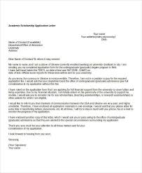 application letter availability date scholarship application letters 8 free word pdf documents