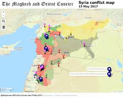 On The Map Syria Interactive Conflict Map On 15 May 2017 The Maghreb