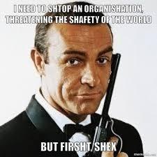 Sean Connery Memes - every sean connery bond film meme shuffle pinterest sean
