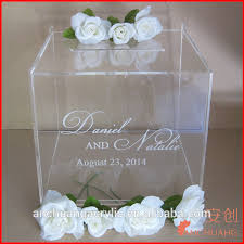 wishing box wedding clear acrylic wedding wishing well card box buy acrylic card box