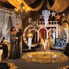 Razzmatazz plete Prom Theme Perfect Glamorous Decorations for