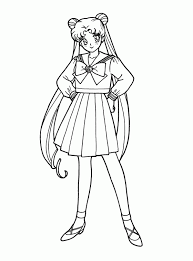 sailor moon coloring pages kiddypicts