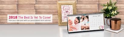 Desk Calendar Custom Make Custom Photo Desk Calendars With Calendar Maker