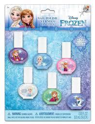 amazon com frozen nail polish 6 count beauty