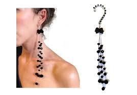 most beautiful earrings 8 most beautiful across ear earrings jewellery