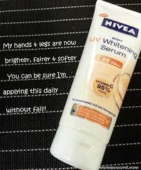 Nivea Serum Vitamin C nivea uv whitening serum after 14 days