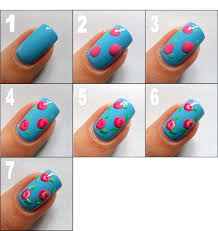 how to paint flowers on nails step by step how you can do it at