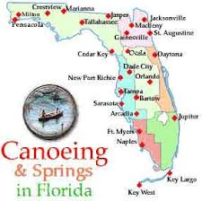 map of jackson county florida florida canoeing canoe rentals rivers and springs absolutely