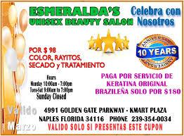 home u2013 esmeralda u0027s unisex beauty salon inc