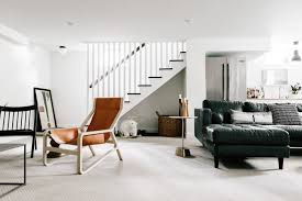 w u0026d renovates from basement to family room wit u0026 delight
