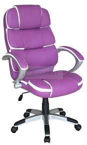 Purple Chair Uk High Back Executive Office Chair Tilt Luxury Pu Leather Computer
