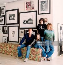 sonia kashuk and daniel kaner at home elle decor 2005 photos and