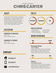 resume header sample format templates headers template mini saneme