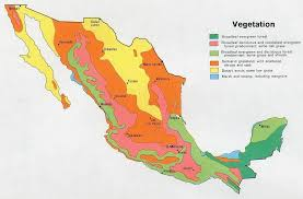 regions of mexico map geography and environment mexico
