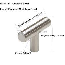 door handles solid stainless steel bar pull kitchen cabinet