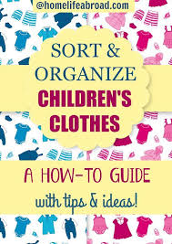best 25 kids clothes organization ideas on pinterest organize