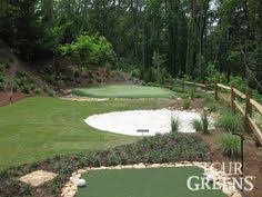 Backyard Putting Green Designs by Tour Greens Backyard Putting Green Photos Backyard Putting