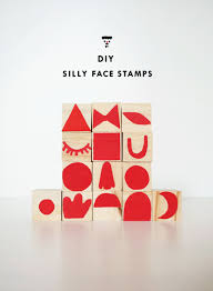 mer mag diy silly face stamps and a get messy contest mer mag