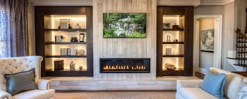 Luxury Homes In Marietta Ga by Back Lit Built In Shelves Contribute A Modern Touch To A Luxury