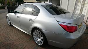 used 2007 bmw e60 5 series 03 10 550i m sport for sale in essex