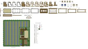 minecraft house floor plans this is a small farmhouse i designed for a add on to the npc