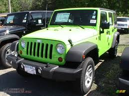 gecko green jeep 2012 jeep wrangler unlimited sport 4x4 in gecko green 243132