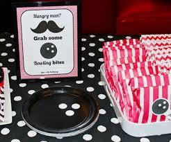 Diy Bowling Favors by Bowling Birthday