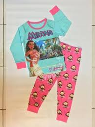 disney moana sleeve children pyjamas for sale