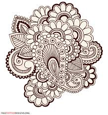 henna hindu hand tattoo designs
