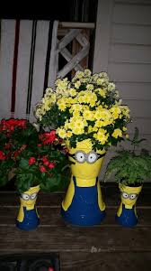 mommy u0027s block party diy minion flower pot planters
