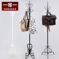 first class furniture wrought iron coat rack bedroom hangers