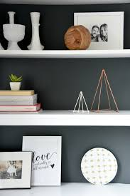 style your shelves with diy geometric sculptures the sweetest digs