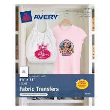 avery t shirt transfers for inkjet printers 8 5 x 11