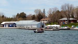 early season boating on lake simcoe and sibbald point northern
